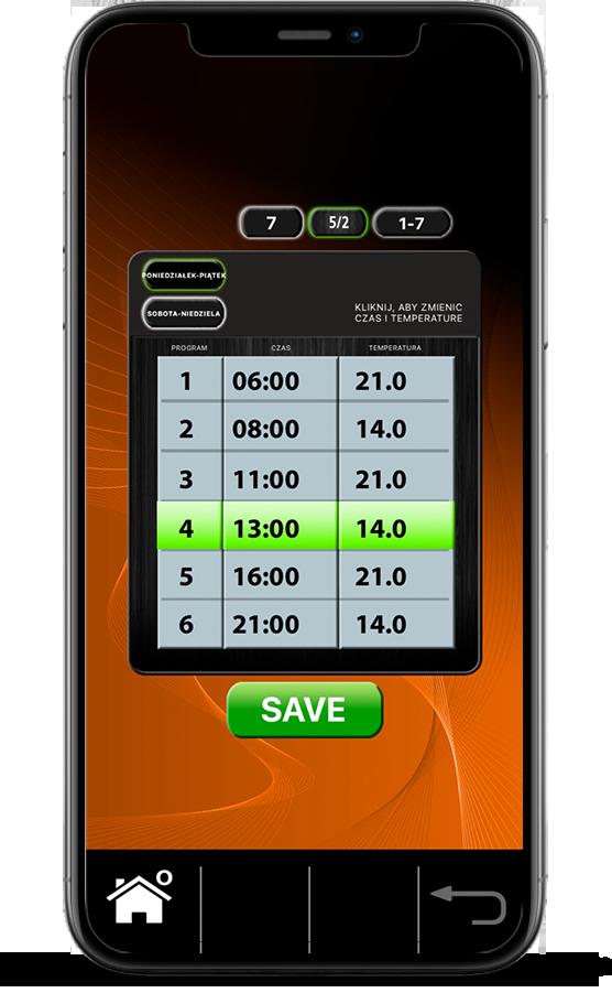 Ekrany Aplikacji SALUS Plus